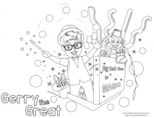 Gerry The Great Coloring Page web